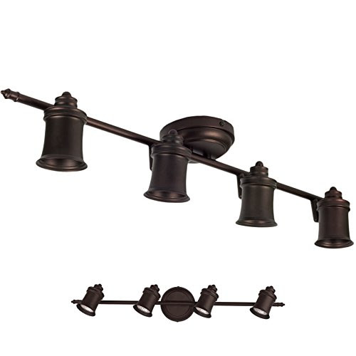 Oil Rubbed Bronze 4 Light Track Lighting Wall Amp Ceiling
