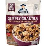 Quaker Simply Granola (34.5oz., 2 Resealable Bags.)