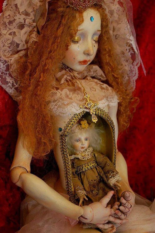 muñecas surrealismo por Mari Shimizu (7)