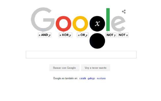 Doodle de Google - George Boole