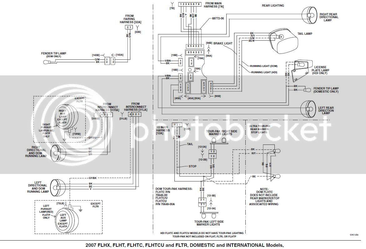 Harley Davidson Touring Wiring Diagram