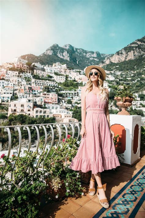 Dash of Darling Visits Positano, Italy with Royal
