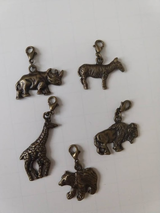 Animal Charms / Animals / Planner Charms / Notebook Charms / Metal Charms / Animal Designs / Charms / Charming Life / Animal Lovers / Note
