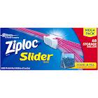 Ziploc Slider Storage Bags, Gallon - 68 count