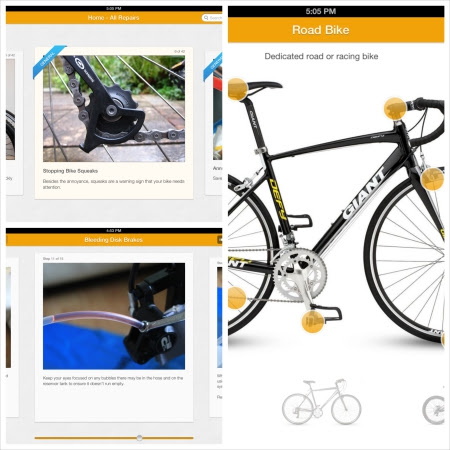 Bike apps for the iPad