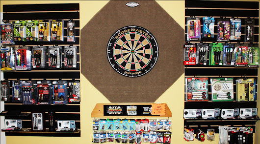Darts, Dart Boards, Cabinets & More |