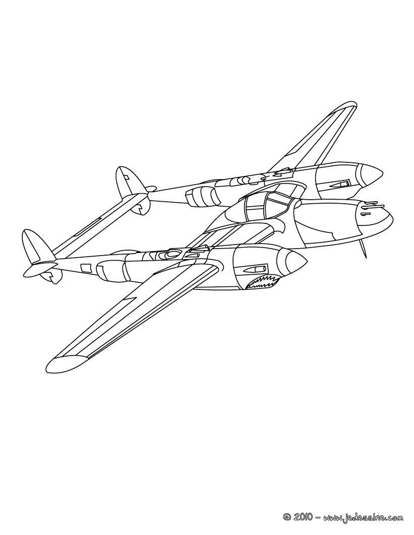 Coloriage Avion Ancien.Unique Coloriage Avion Militaire A Imprimer Imprimer Et