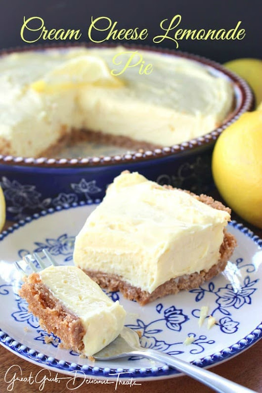 Pin of the Week: Cream Cheese Lemonade Pie & Candied Lemon Slices
