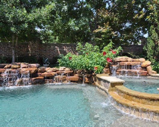 Manmade Waterfall Design Ideas, Pictures, Remodel and Decor
