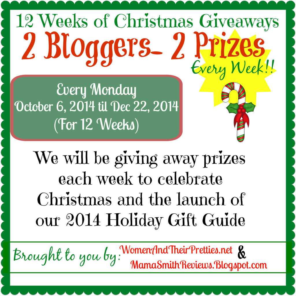 12 Weeks of Christmas Announcement