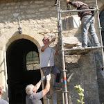 Élus et bénévoles rénovent l'église de Bouvancourt
