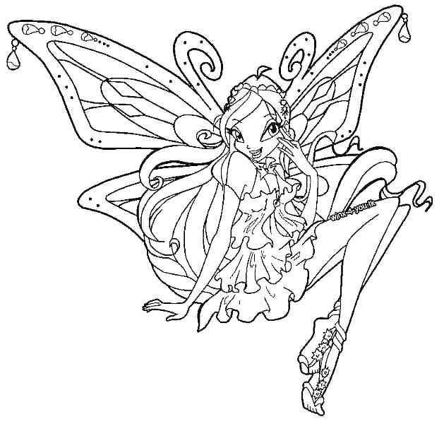 Winx Coloring Pages At Getcoloringscom Free Printable Colorings