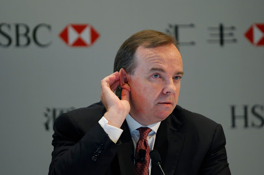 British HSBC boss faces tax probe after insisting his main home is in Hong Kong