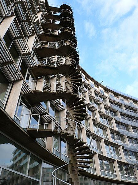 UNESCO escalier