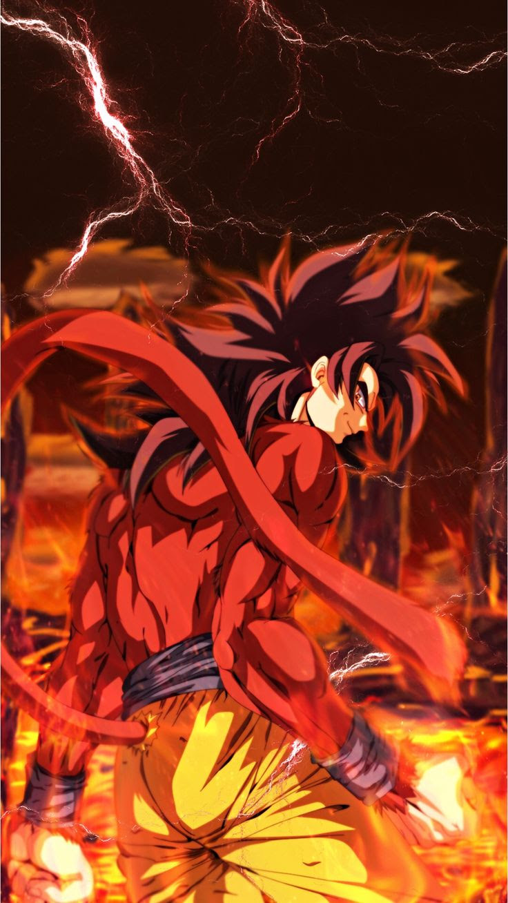Dragon Ball Goku Wallpaper Iphone Gambarku