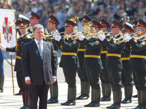O novo presidente da Ucrânia, o magnata Petro Poroshenko. (Foto: Valentyn Ogirenko / Reuters)