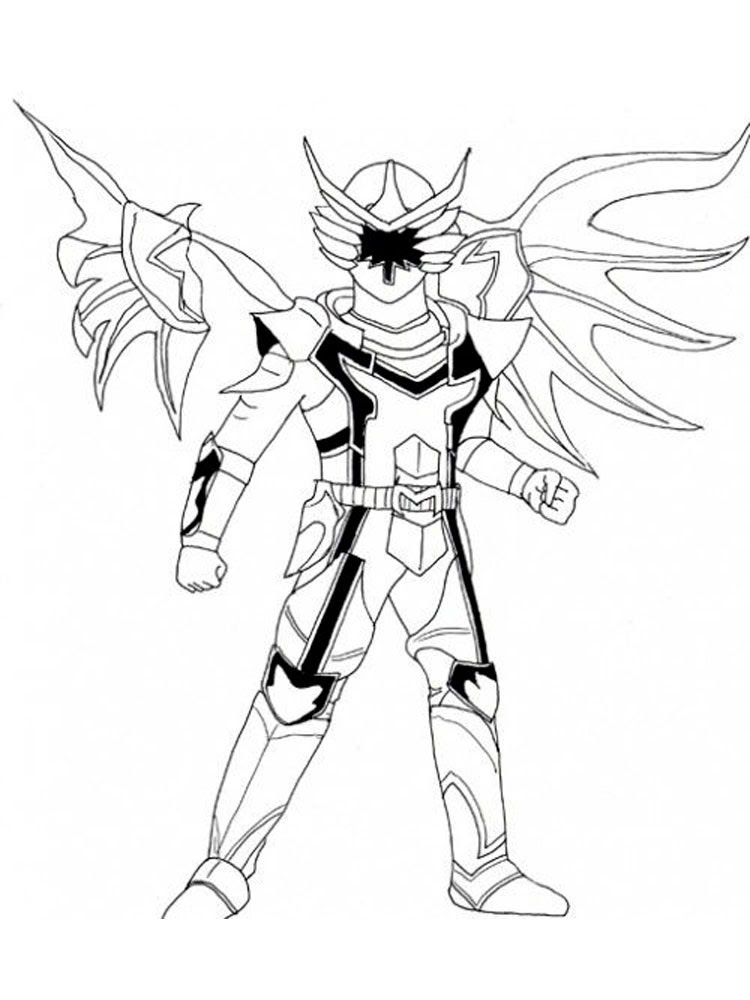 Gold Power Ranger Samurai Coloring Pages - Food Ideas