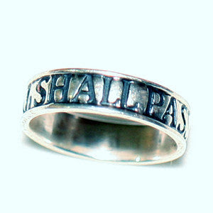 Solid Sterling Silver This Too Shall Pass Ring Shiva Nirvana
