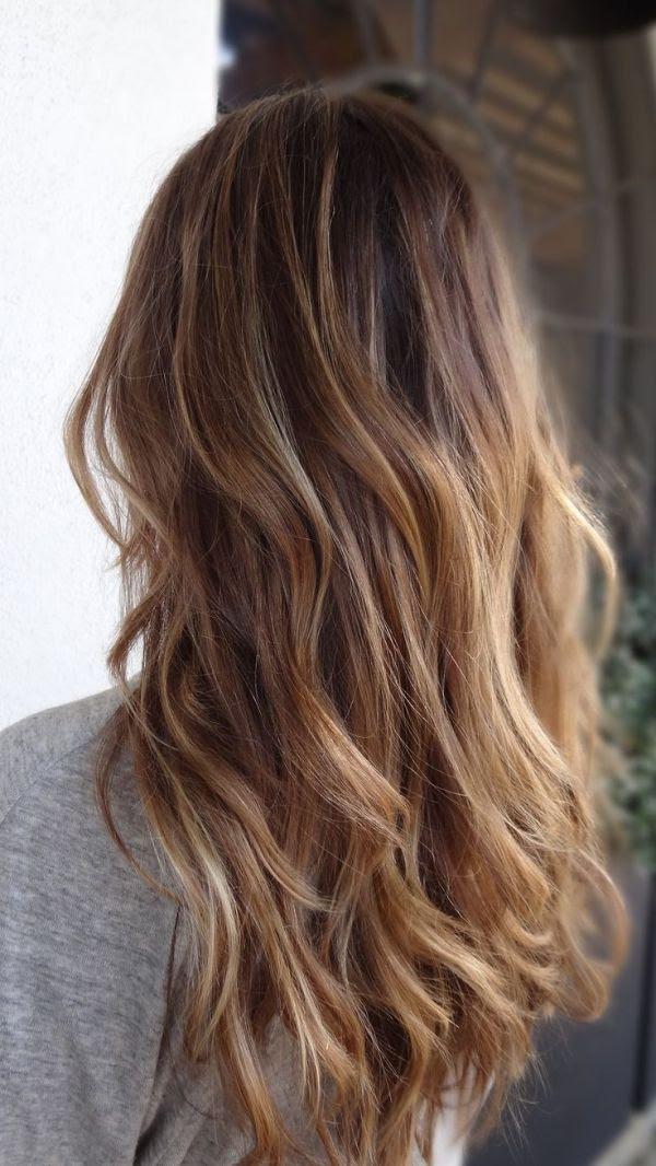 brown to blonde balayage @Amber Delcambreée Bordallo Campuzano