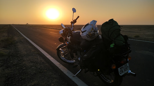 Motorcycle Trip to Rann of Kutch