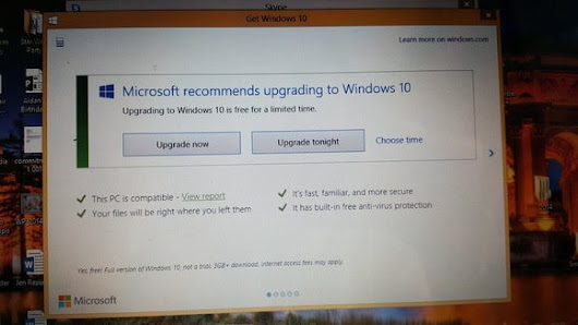 Microsoft denies forcing Windows 10 upgrades by killing the reschedule option