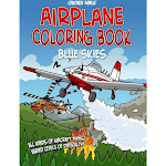 Chicken Wings Blue Skies Coloring Book, Size: One Size