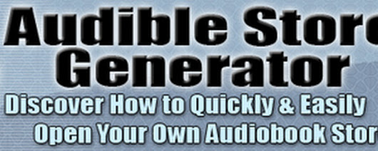 Audible Store Generator: Sell Audio Books - Download Internet/Network