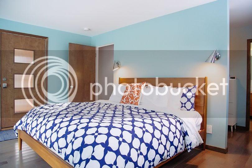 Midmodmich mid century living in michigan master for Mid century modern master bedroom