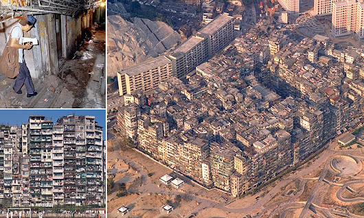Kowloon Walled City: A rare insight into one of the most densely populated places on earth which housed 50,000 people