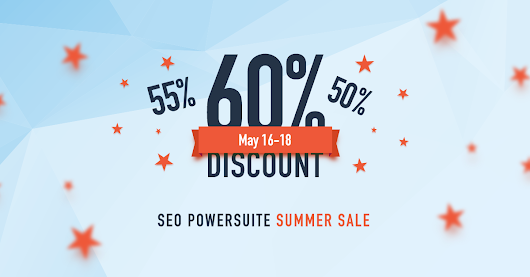Get SEO PowerSuite software at 60% off