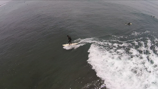 Consider Action Sports Aerial Video in Malibu for Surfing - Flight Sight Footage