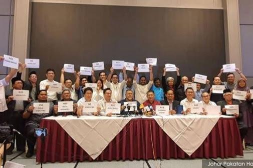 PH + Bersatu di Johor selari dengan kehendak Majlis Presiden?