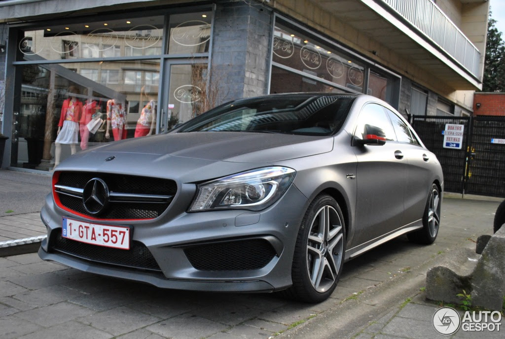 Mercedes-Benz CLA 45 AMG C117 - 7 May 2014 - Autogespot