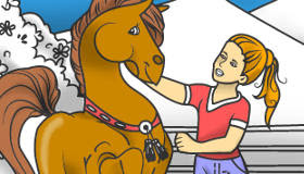 Horse Coloring Game - My Games 4 Girls