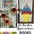 30 Teacher Appreciation Door Decoration Ideas - events to CELEBRATE!