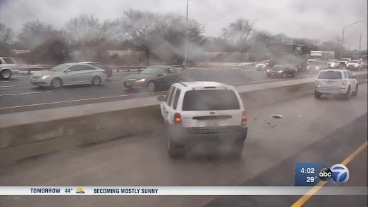Chicago Weather: Black ice causes more than 130 crashes - 3 fatal - on Chicago area expressways |