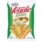 Sensible Portions Straw Veggie Pack Single Sea Salt 1 Oz