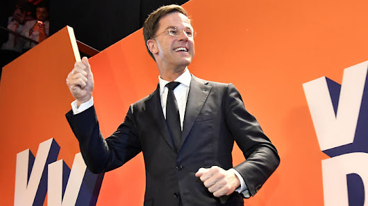 Netherlands Election VVD Party wins Most Seats According to Exit Polls