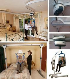 Lifts On Tracks In Home For Handicapped Ceiling Lifts