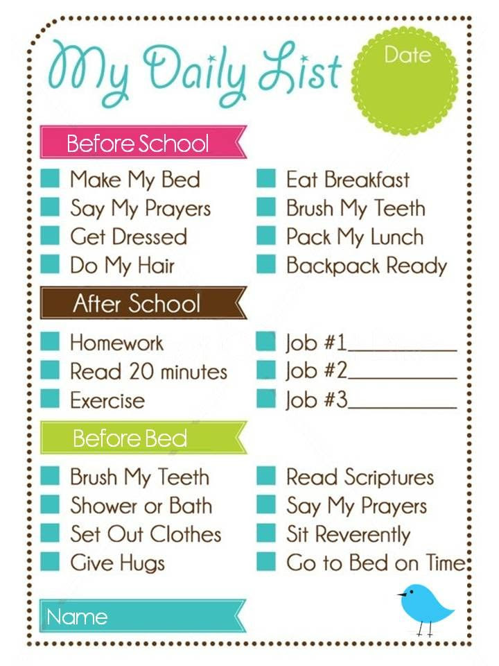 1000+ images about behavior/chore chart/ family rules on Pinterest ...