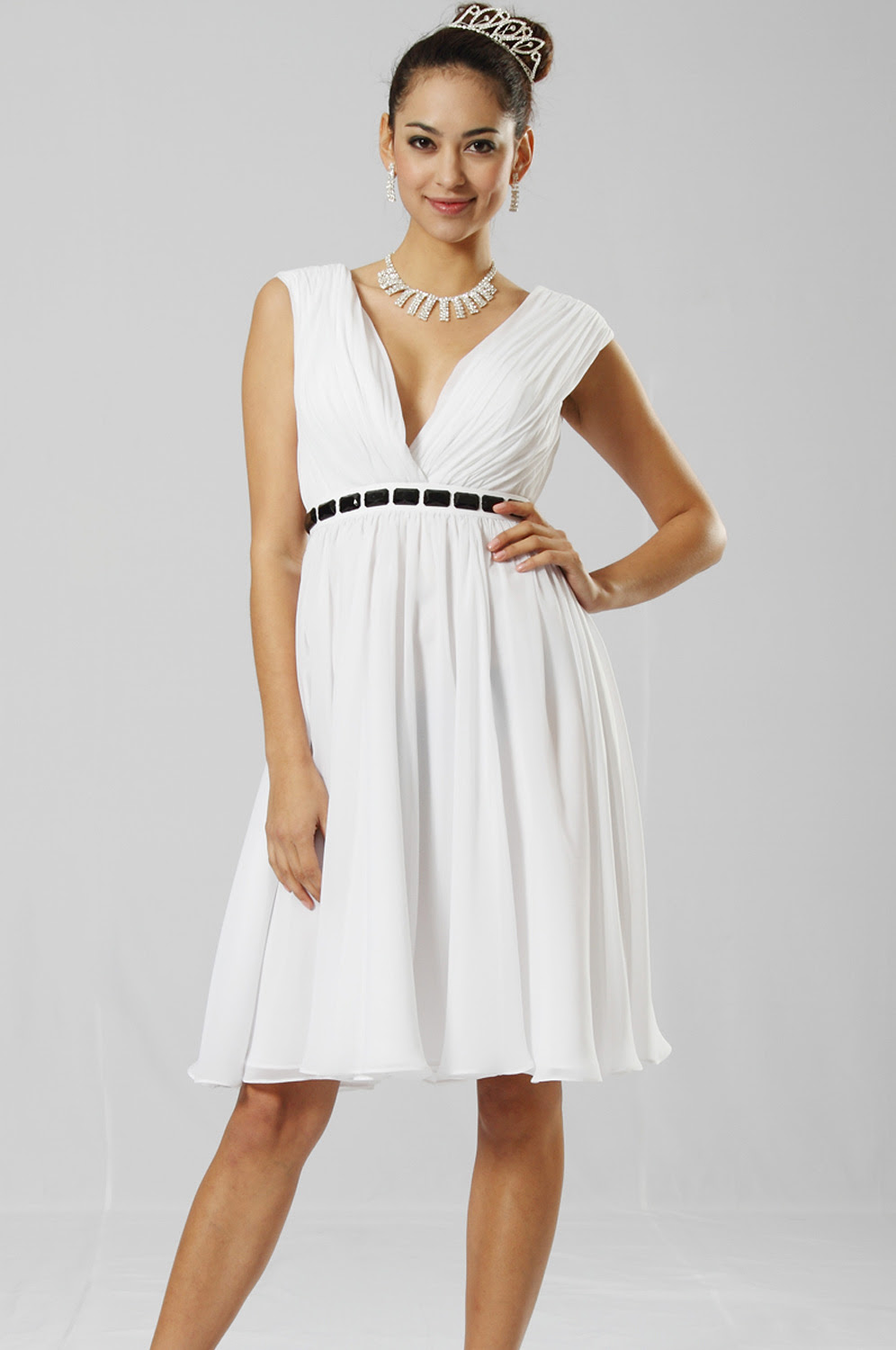 eDressit Adoralble White Cocktail Dress