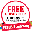 FREE Activity Book at Kmart on February 25 - Hunt4Freebies