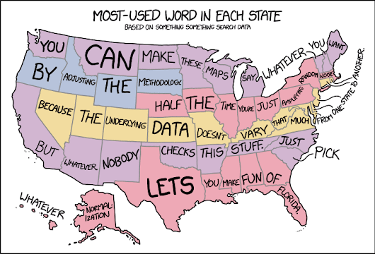 xkcd: State Word Map