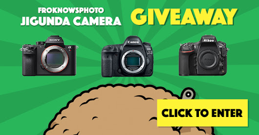 Click here and you could win a Canon 5D Mark IV, Nikon D810, or Sony A7R II from FroKnowsPhoto!