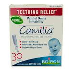 Boiron Camilia Teething Relief Homeopathic Liquid 0.034 oz - 30 Doses