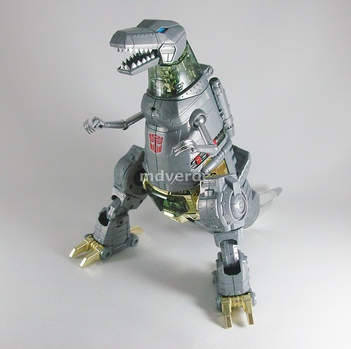 Transformers Grimlock Masterpiece - modo alterno