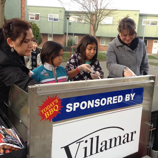 Villamar supporting Kids and an Extreme BBQ