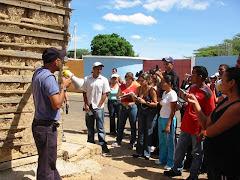 Actividad de Campo en urumaco (Edo. Falcón)