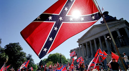 The Confederate flag symbolizes white supremacy — and it always has