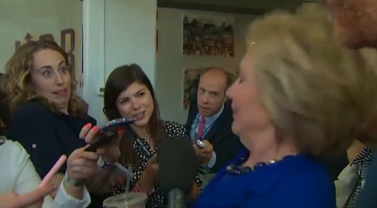 Wow! Did Hillary Suffer A Seizure On Camera Or Just Spaz Out? - BB4SP